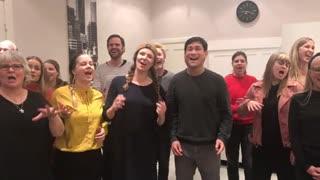 When The saints go to worship med True Gospel Singers
